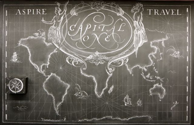map letters in ink
